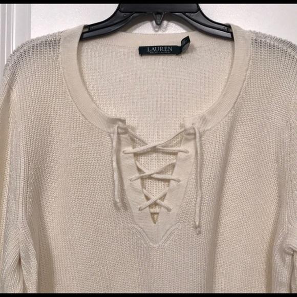 Lauren Ralph Lauren Sweaters - Ralph Lauren tie up sweater ✨ e11a8d6a5e9